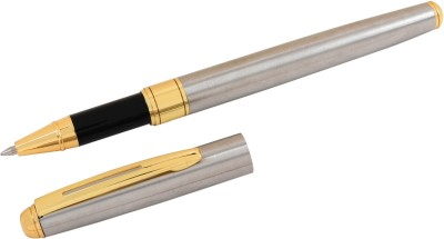 Oculus Primus 1321 Smooth, Stylish Mid Cut Clip with Satin Rose Gold Glossy Finish metallic Roller Ball Pen
