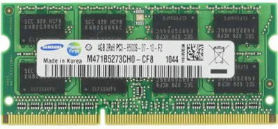 Samsung SAMSUNG DDR3 4 GB (Dual Channel) Laptop SO DI (M471B5273BH1-CF8 & M471B5273CH0-CF8)