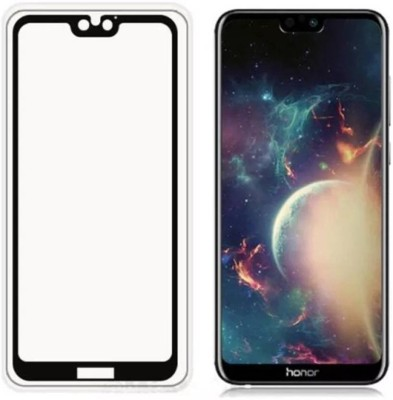 Express Buy Edge To Edge Tempered Glass for Oppo A83(Pack of 1)