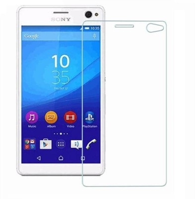 Roxel Impossible Screen Guard for Sony Xperia C4 Dual E5363 (Black)(Pack of 1)