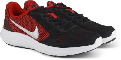 Nike REVOLUTION 3 Running Shoes For Men(Red, Black) 1