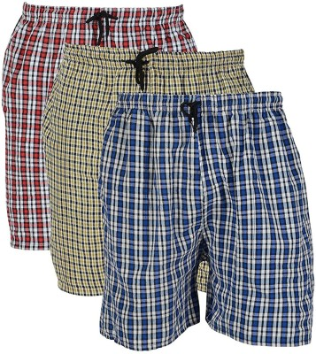 River Hill Self Design Men Multicolor Regular Shorts