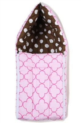 Miss & Chief Butterfly Pink Choco Reversible Baby Sleeping Bag(Multicolor)