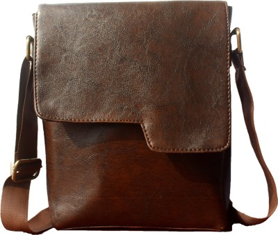 5188353edd9 63% OFF on JaIsBoy Boys   Girls Casual Brown PU Sling Bag on ...