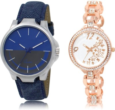 BG Dholariya stylish atrective trendy watch combo for bgd_124 Watch  - For Men & Women