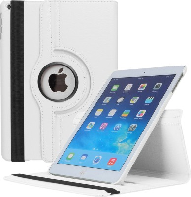 Robustrion Flip Cover for Apple iPad 5th Gen 9.7 inch, Apple iPad Air 9.7 inch, Apple iPad 6th Gen 9.7 inch, Apple iPad 9.7 inch(White, Cases with Holder)