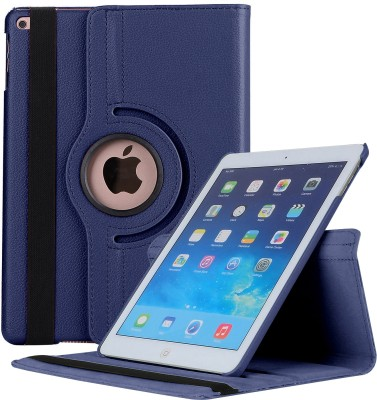 Robustrion Flip Cover for Apple iPad 5th Gen 9.7 inch, Apple iPad Air 9.7 inch, Apple iPad 6th Gen 9.7 inch, Apple iPad 9.7 inch(Blue, Cases with Holder)