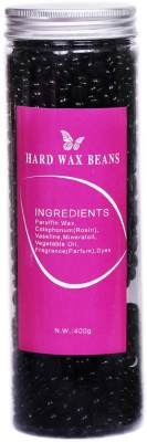 THREE ELEMENTS Black Hard Wax Beens Wax(400 g)