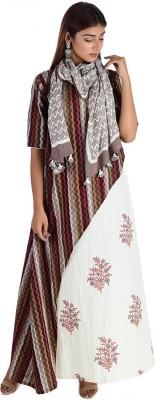 Chapai.in Casual Printed Women Kurti(Multicolor)