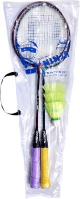 Pioneer Ninja Junior Badminton Set Multicolor Strung Badminton Racquet(S3 - Small, 100 g)