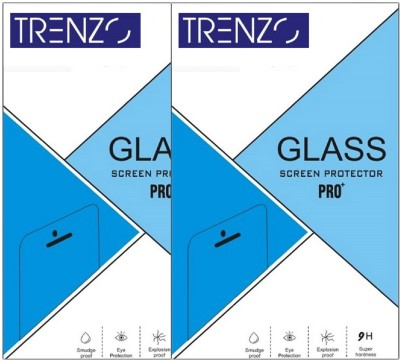 Trenzo Tempered Glass Guard for Coolpad Mega 2.5D Pack of 2