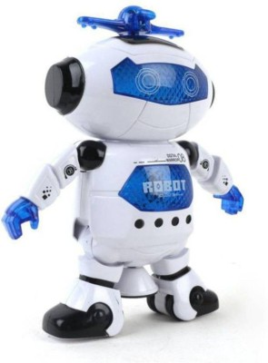 crazy toys Naughty Dancing Robot with Swinging Arms and Head, Multi Color(Multicolor)