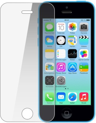 Snoogg Tempered Glass Guard for Apple Iphone 5c(Pack of 1)