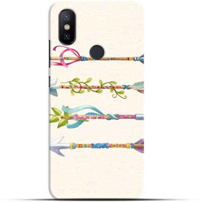 Saavre Back Cover for Tribe Decorated Arrows for MI A2(Multicolor, Hard Case, Polycarbonate)