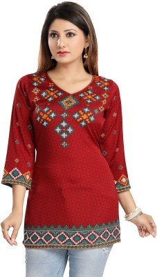 Meher Impex Casual Printed Women Kurti Multicolor