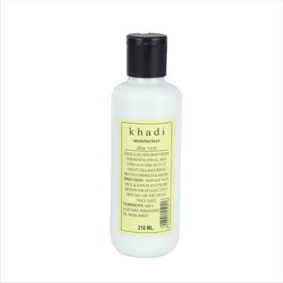 Khadi Natural AYURVEDIC ALOEVERA MOISTURISER(210 ml)