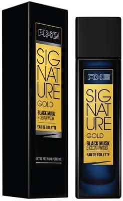 AXE Signature Gold Black Musk & Cedar Wood Perfume Eau de Toilette  -  80 ml(For Men)