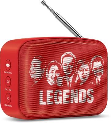 Saregama Carvaan Mini SCM02 3 W Bluetooth Speaker(Sunset Red