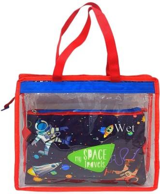 Shopat7 Wet and Dry Bag, Swim Bag, Travel Bag Baby Diaper Reusable Bag for Kids Diaper Bag Dispenser(1 Bags)
