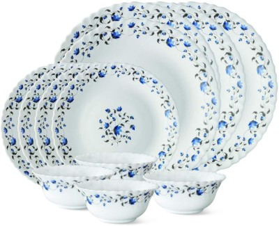 Larah by Borosil Helena Pack of 12 Dinner Set Opalware