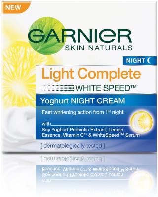 Garnier Skin Naturals Light Complete Night Cream (40GM)