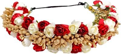 Majik Hair Gajra Artificial Flower Accessories For Women And Girls, Multicolor Hair Accessory Set, Bun(Multicolor) Flipkart