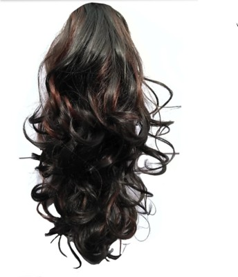 Alizz Curly silky ponytail wig 20second hair style Hair Extension
