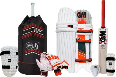 GM Cricket set Jr Complete Kit W/O Helmet S-6 Cricket Kit