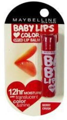 Maybelline Baby lips (SPF 20) Lip Balm Berry Crush(Pack of: 1, 4 g)