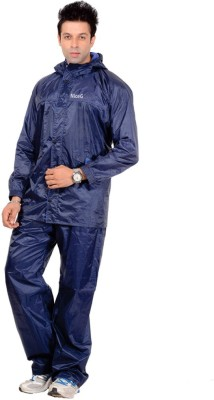 Civil Outfitters Solid Men Raincoat