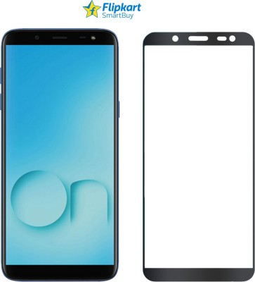 Flipkart SmartBuy Edge To Edge Tempered Glass for Samsung Galaxy J6, Samsung Galaxy On6(Pack of 1)