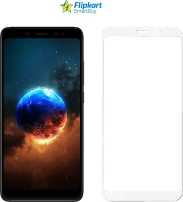 Flipkart SmartBuy Edge To Edge Tempered Glass for Mi Redmi Note 5 Pro