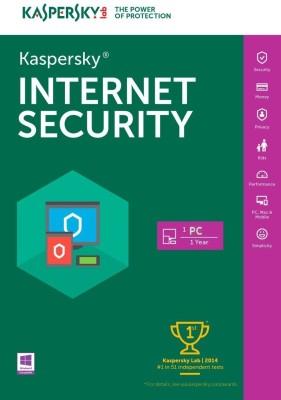 KASPERSKY Internet Security 2018 / 2019 - 1 Pc / 1 Year / 1 User [1 Key+ 1 CD] (Latest Version) NO BOX
