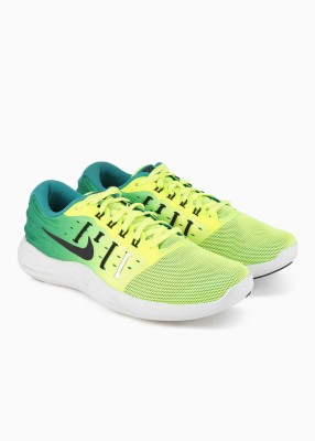 Nike LUNARSTELOS Running Shoes For Men(Green) 1