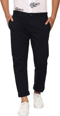 Blackberrys Regular Fit Men Blue Trousers