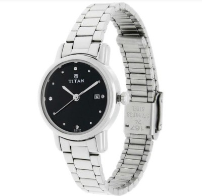 Titan NF2572SM02J  Analog Watch For Girls