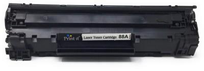 print it 88A Toner Catridge Single Color Ink Toner(Black)