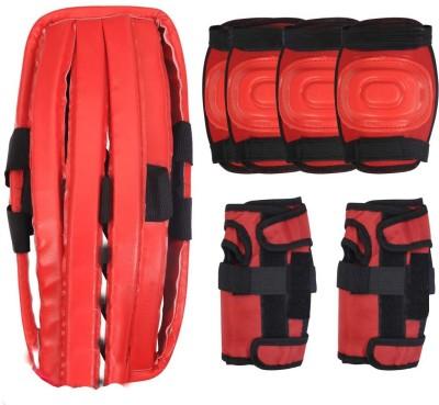 9e3269af2 EMM EMM 7 Pcs 4 in 1 Red Small Size Safe Guard Set For Dancing Skating