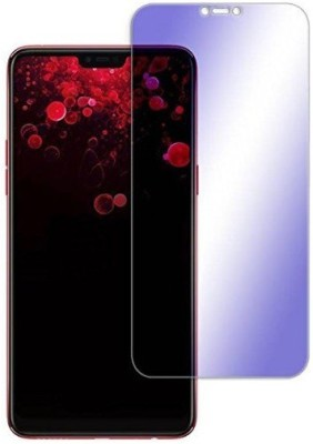 HRV Tempered Glass Guard for Oppo A3s Premium Quality Anti-Blue Ray Light Screen Guard [ Blocks Excess Harmful Blue Light] [Eyes Protector Tempered Glass] [Reduce Eye Fatigue and Eye Strain](Pack of 1)