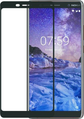 COMORO Tempered Glass Guard for Nokia 6.1 Plus(Pack of 1)
