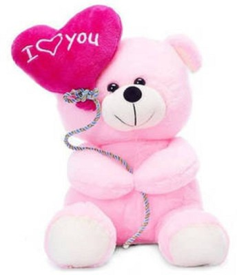 stuffed toy 25 cm little soft and cute teddy   25 cm Pink stuffed toy Soft Toys