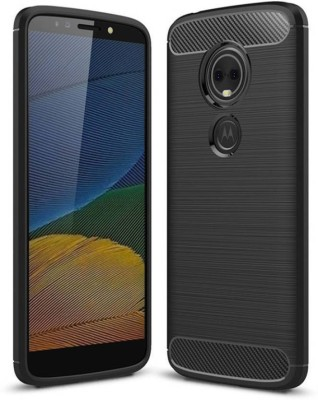 Tejorupa Back Cover for Motorola Moto E4 Plus Black