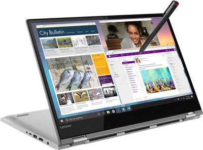 Lenovo Yoga 530 Core i7 8th Gen – (8 GB/256 GB SSD/Windows 10 Home/2 GB Graphics) 530-14IKB 2 in 1 Laptop(14 inch, Mineral Grey, 1.67 kg, With MS Office)