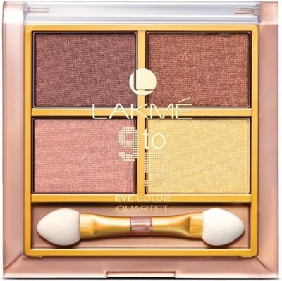 Lakmé 9 to 5 Eye Color Quartet Eye Shadow 7 g(Desert Rose)