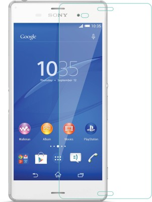 Snatchy Tempered Glass Guard for Sony xperia Z3 Plus (Premium 0.2 MM Glass)