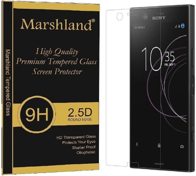 Marshland Tempered Glass Guard for Xperia XZ1 Compact(Pack of 1)