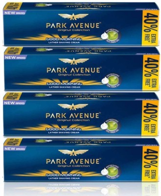 Park Avenue Original Collection GOOD MORNING Shaving Cream 84 g × 4 Pack Of Four(336 g)