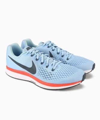 Nike AIR ZOOM PEGASUS 34 Running Shoes For Men(Blue) 1