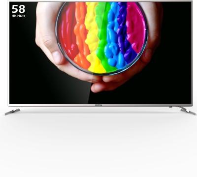 Onida Google Certified 147.32cm (58 inch) Ultra HD (4K) LED Smart TV(58UIC)