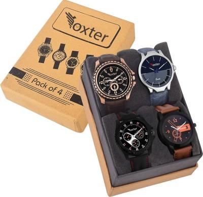 Foxter Designer Combo Watch FX-430-436-001-copper Watch  - For Men